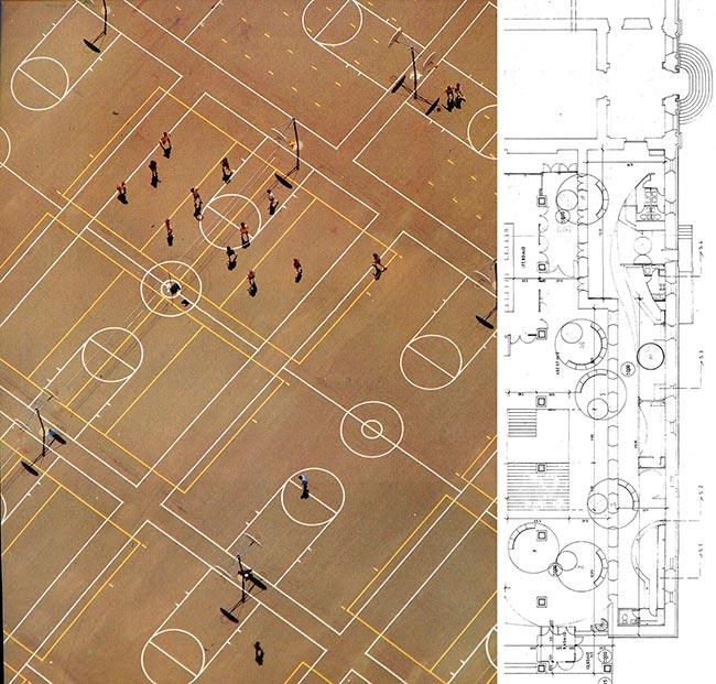 Georg Gester. Revista zoom1976 Croquis de trabajo exposición Arne Jacobsen 1902-2002