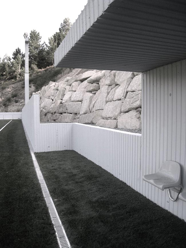 Reforma y ampliación del Campo de Futbol de As Salinas