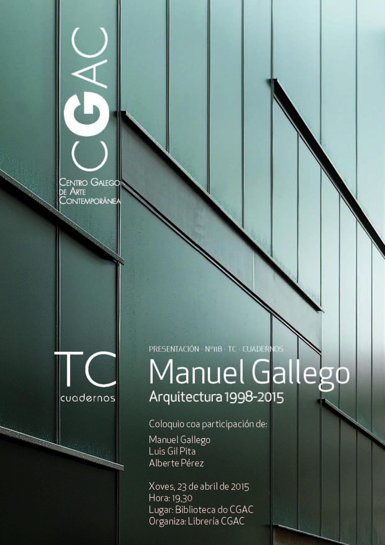 cartel presentación TC Galego