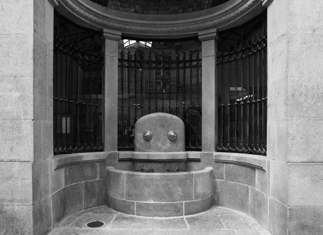 Restauración de Fonte do Mercado. Caldas de Reis. Pontevedra