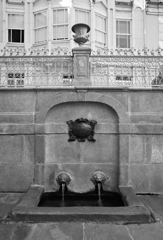 Restauración de Fonte da Burga. Caldas de Reis. Pontevedra