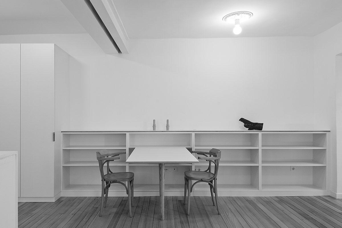 Mesa Balda para la reforma y amueblamiento de Casa Tao