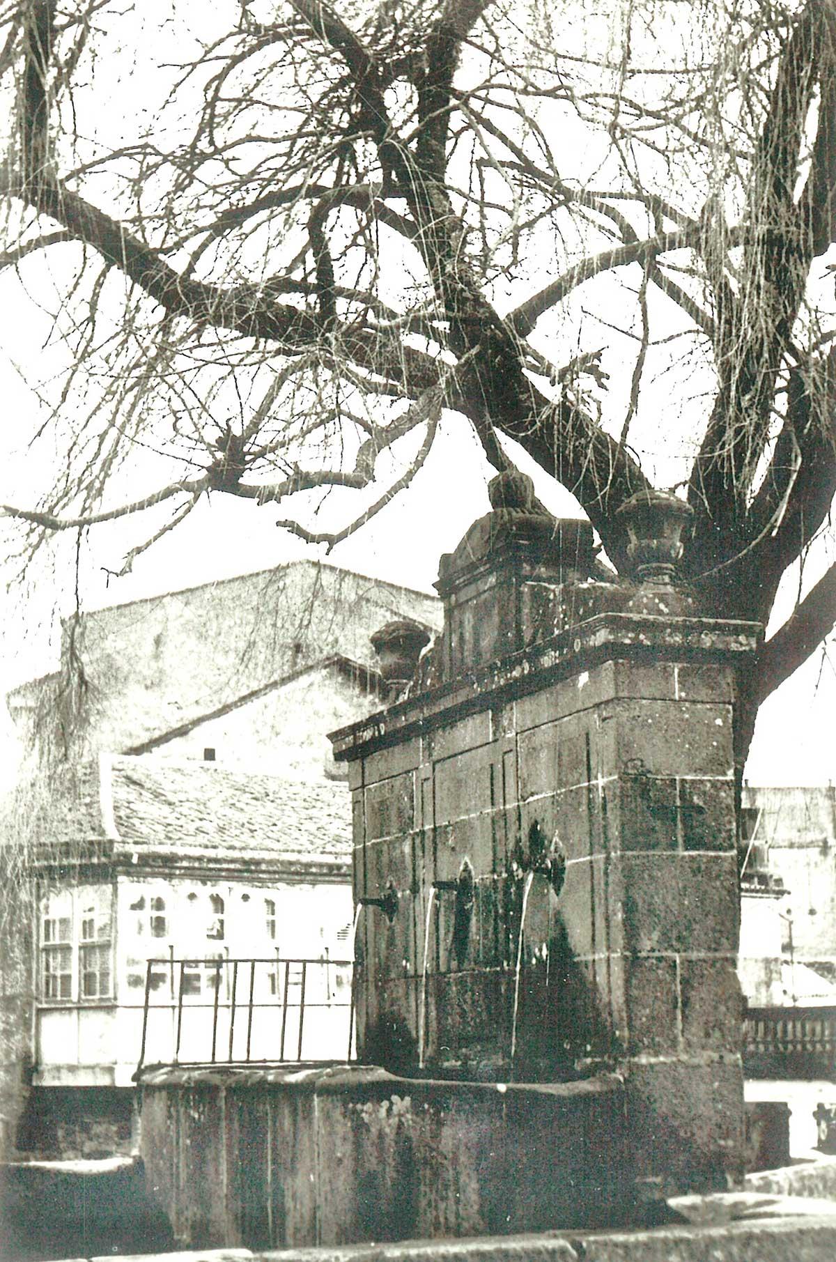 Restauración de la Fonte do Campo da Torre